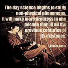 Tesla's pineal was wide open for recieving and downloading the universal consciousness. The shift in 1843...he was discovered zero-point-energy. He was the genius, (people think it was Edison). Zero-point-energy is abundance. It is there for everybody in unlimited amounts. Just connect with it !  <3