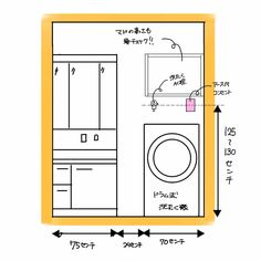 新築住宅のコンセント計画、失敗しないための3つのポイント Bed Size Charts, Hall Design, Washroom, Bed Sizes, Laundry Room, Tiny House, House Plans, Engineering, Floor Plans