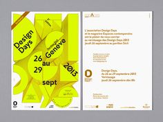 DESIGN DAYS 2013 on Behance