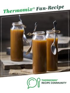 Salted caramel sauce by Thermomix in Australia. A Thermomix ® recipe in the cat… Lchf, Thermomix Desserts, Thermomix Recipes Healthy, Actifry Recipes, Salted Caramel Cake, Gnocchi Recipes, Caramel Recipes, Food Shows, Marmalade