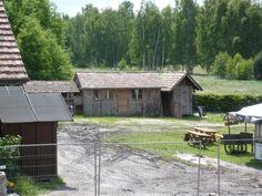 Krabatmühle in Schwarzkollm - noch wird aufgebaut