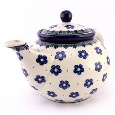 Teapot by #PolishPottery from http://slavicapottery.com, love it!