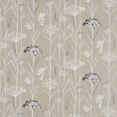 Gardinum Fabric - Linen/Chalk/Ebony (130910) - Harlequin Poetica Fabrics Collection