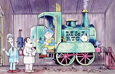 one of my husband's favourites-Ivor The Engine