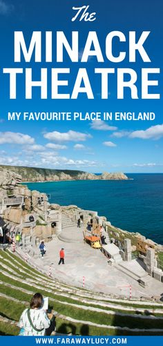 My favourite place in England, UK, is Cornwall's Minack Theatre, a unique open-air theatre perched on the cliffs above the sea. Click through to read more...