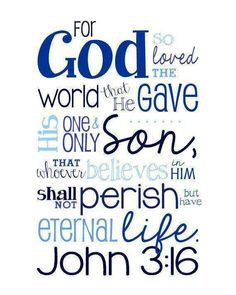 John  For So Loved The World That He Gave By Sweetleighmama