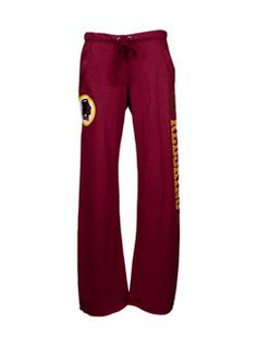 Wear your Washington #Redskins pride from the bottom up with these Victoria's Secret PINK Ladies Sweatpants.