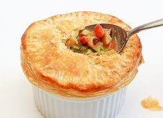 Made this vegetarian pot pie tonight for dinner - it was easy, tasted great, and the kids asked for seconds!