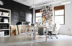 Erin Gates Working Space #design #interior #decor #decoration #workplace #workspace #office