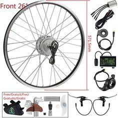 288798bf3d5 Wheel Electric Bicycle Hub Motor Kit E-bike Conversion Kit for Electric Bike