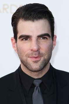Zachary Quinto attends the 65th Annual Primetime Emmy Awards held at Nokia Theatre L.A. Live in Los Angeles.