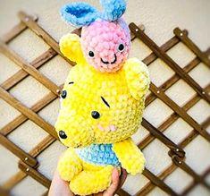 Baby pluto dog amigurumi free crochet pattern - Lovelycraft Crochet Elephant Pattern Free, Crochet Bunny, Free Crochet, Free Pattern, Crochet Patterns, Honey Bear, Bunny Plush, Cute Bears, Amigurumi Toys