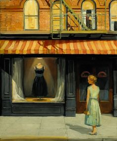 BLACK DRESS, BY SALLY STORCH 1952. SALLY STORCH COMES FROM AN ARTISTIC FAMILY WITH ROOTS IN THE EARLY 20TH CENTURY FRENCH SCHOOL. STORCH SPENT WITH HER AUNTS, ONE OF WITCH LIVED IN PARIS IN THE 1920S AND KEPT COMPANY WITH HENRI MATISSE AND KEES VAN DONGEN. ANOTHER STUDIED WITH JOHN STEUART CURRY IN NEW YORK.