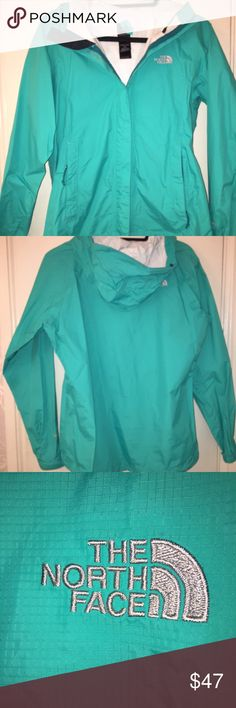 North Face Rain Jacket Worn twice. Amazing condition. The North Face Jackets & Coats Utility Jackets