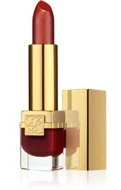 """Pure Color Long Lasting Lipstick by Estee Lauder - worn with lip pencil to prevent """"creep"""" - my favorite lipstick especially since it has no annoying fragrance."""