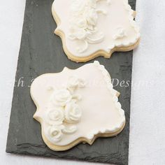 English Over-Piped Cookies by Bobbie
