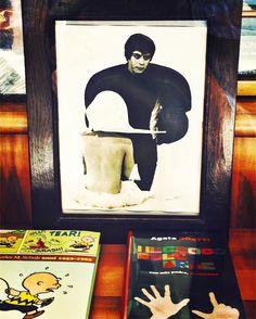 """Carmelo Bene """"Un Amleto di meno"""" - 1972 (foto di scena di E.Vannutelli) @biennaledeldisegnoRN C/O #mybiennaleRN #rimini #myrimini #rimini_reservation #recitazione #teatro #vivorimini #vivoemiliaromagna #volgorimini #volgoemiliaromagna #ig_rimini #ig_emiliaromagna #igersemiliaromagna #igersrimini by mrzpan"""