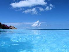 Infinity Pool, Cocobay Resort, Antigua, Kleine Antillen