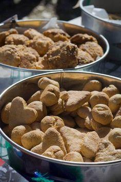 Soft pumpkin dog treats-replace wheat flour with rice flour or oat flour.