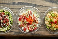 Make Poke Bowls for dinner with this easy fish-based recipe.