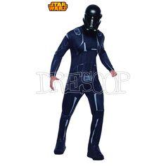 Disfraz Death Trooper negro para hombre - Dresoop.es