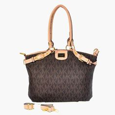 2017 new Michael Kors MK Logo Signature Jacquard Large Brown Satchels on sale online, save up to 70% off on the lookout for limited offer, no duty and free shipping.#handbags #design #totebag #fashionbag #shoppingbag #womenbag #womensfashion #luxurydesign #luxurybag #michaelkors #handbagsale #michaelkorshandbags #totebag #shoppingbag
