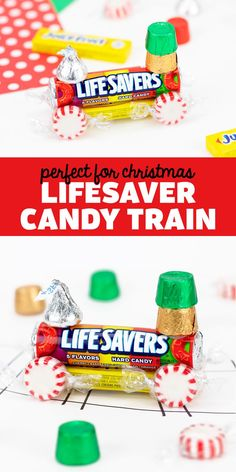 Lifesaver Candy Train - A classic candy ornament that is perfect for Christmas! Follow us on Pinterest for more fun ideas! Arts And Crafts For Kids Toddlers, Activities For Kids, Lifesaver Candy, Candy Train, Classic Candy, Play Food, Toddler Fun, Hard Candy, Christmas Activities