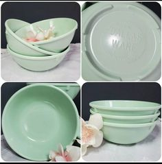 Vintage Box, Vintage Silver, Chip And Dip Bowl, Sea Foam, Trinket Boxes, Mint Green, Bowls, Berry, Dallas