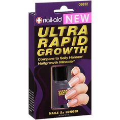 Nail-Aid Ultra Rapid Growth...Use by itself or as a basecoat...Really works, great products!