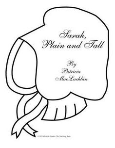 Sarah Plain And Tall Coloring Pages