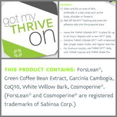 Ever heard of Green Coffee Bean Extract or Garcinia Cambogia before? Want to take these hot weight loss products without popping a bunch of pills? Put on the patch!!