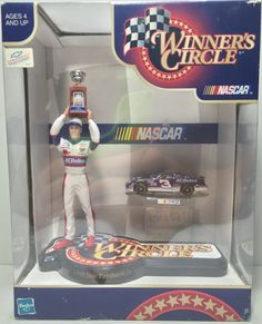 1998 Hasbro Winner's Circle Die-Cast Figure - Dale Earnhardt Jr. This item is NOT in Mint Condition and is in no way being described as Mint or even Near Mint. Our toys have not always lead the perfec