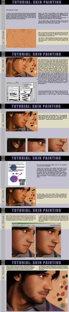 skin tutorial by crazydwarf*  ★ || CHARACTER DESIGN REFERENCES™ (https://www.facebook.com/CharacterDesignReferences & https://www.pinterest.com/characterdesigh) • Love Character Design? Join the #CDChallenge (link→ https://www.facebook.com/groups/CharacterDesignChallenge) Share your unique vision of a theme, promote your art in a community of over 50.000 artists! || ★