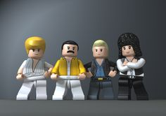 Queen on lego style.