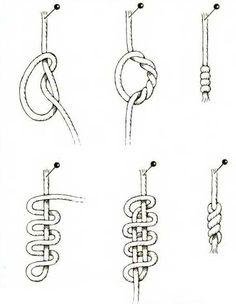 Как сделать узлы на шнурках