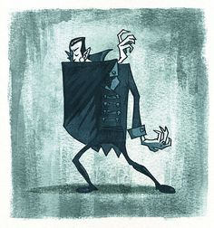 Dracula by artist, Rory Phillips, via Flickr.