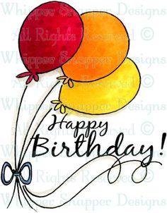 Happy Bday Balloons