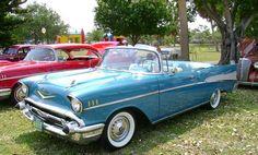 1957 chevy car pics | 1957 Chevy Convertible
