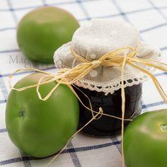 CONFETTURA DI POMODORI VERDI #confettura #pomodori #verdi #ricettafacile #microonde #ricettavegetariana