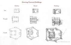 How to draw featured buiildings