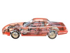 1982-84 Chevrolet Camaro Z28 - Illustrated by Jeremy Gower