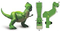 Blog_Paper_Toy_papertoy_Rex_Disney