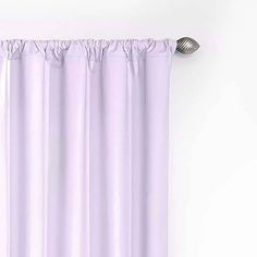 Microfiber Blackout Curtain Panel Orchard - Eclipse My Scene, Light Purple