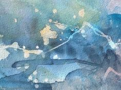 In the Cold 4  (Jann Hill) Abstract Watercolor, Paintings, Cold, Art, Art Background, Paint, Painting Art, Kunst, Painting