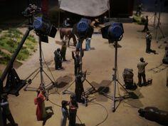 电影拍摄场景模型