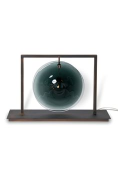 #ORBE_GONG #table_lamp by #Patrick_Naggar for #Veronese - #Murano_Glass