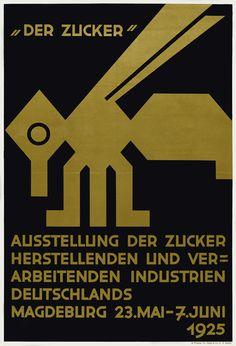 """by Wilhelm Deffke, """"Der Zucker"""", 1925"""