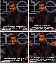 Aziz ansari dating meme
