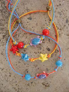Porcelain turtle bracelet