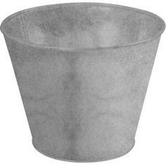 Pot de fleur en zinc ESSCHERT DESIGN - Pot, bac, jardinière